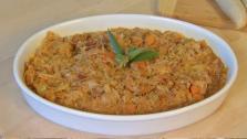 Braised Sauerkraut and Cabbage
