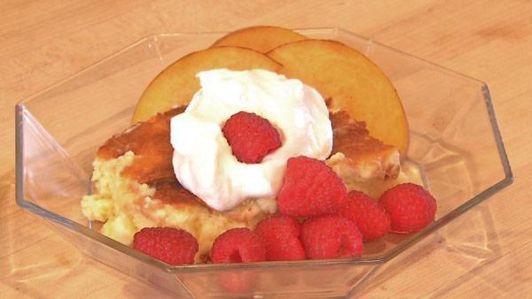 Meyer Lemon Buttermilk Pudding Cake