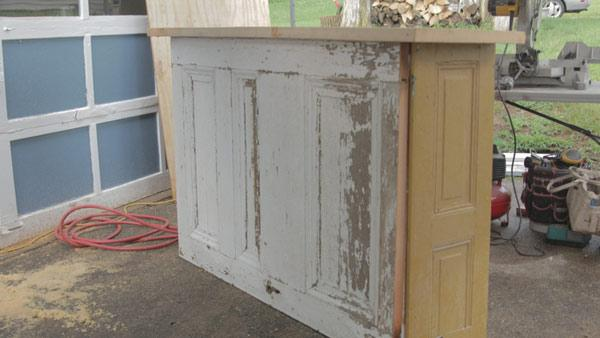 Old Shutter and Door Bar