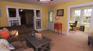 Outdated Family Room Gets Completely Revived