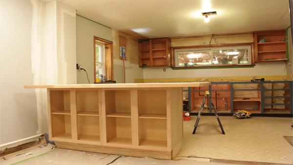 How to Make a Kitchen Island Out of Cabinets