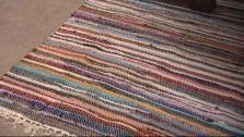 DIY Large Rustic Area Rug