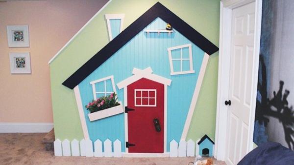 Whimsical Playroom Makeover