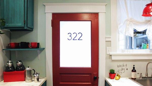 DIY Vintage Look Door