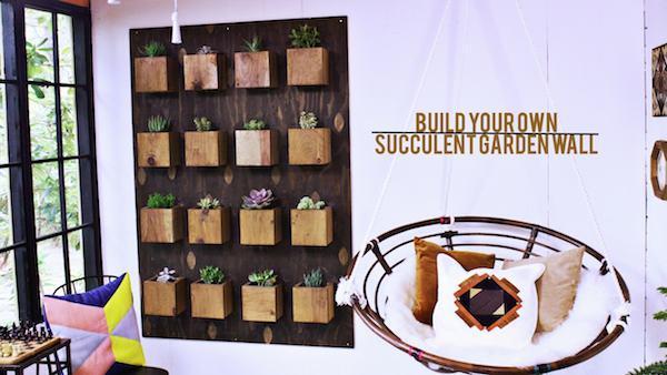 DIY Garden Wall