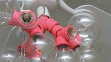 Modern Light Fixture and Ceiling Fan Update