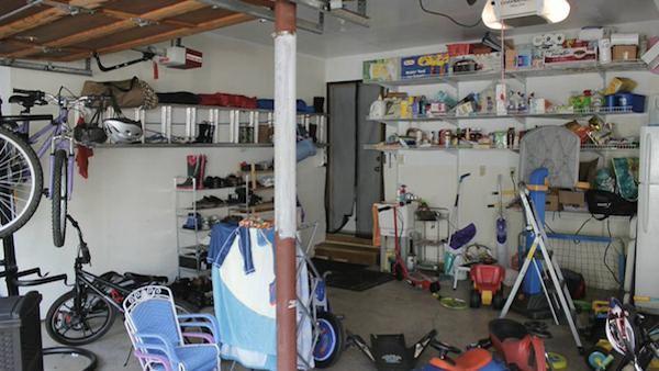 Plan for Garage Makeover