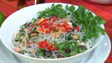 Yum Wunsen (Spicy Glass Noodle Salad)