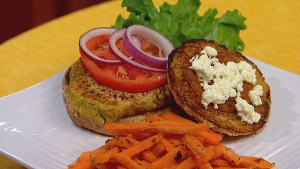 Veggie Edamame Burger