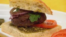 Mediterranean Hamburger