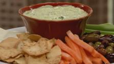 Feta Garlic Dip