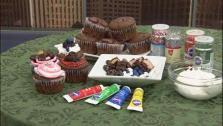 Chocolate Surprise Cupcake Bar