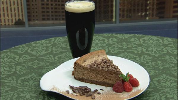 Chocolate Guinness Cheesecake