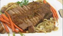 Saffron and Fennel Beef Braised Brisket