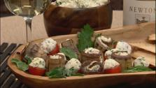 Homemade Herbed Cheese Appetizers