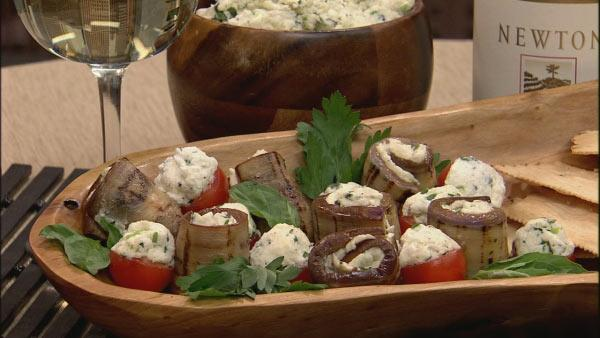 Herbed Cheese Appetizers
