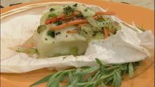 Chilean Sea Bass in Parchment Paper