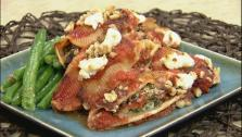 Spinach and Kale Stuffed Pasta Shells