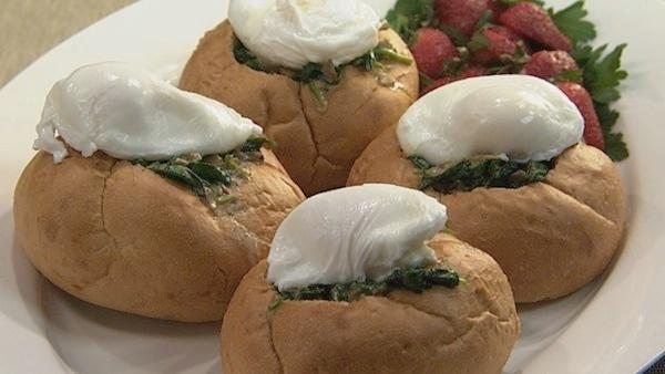 Poached Egg Croustades