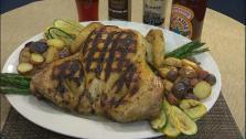 Garlic and Herb Spatchcock Chicken