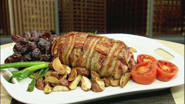 Bacon Weave Pork Roast