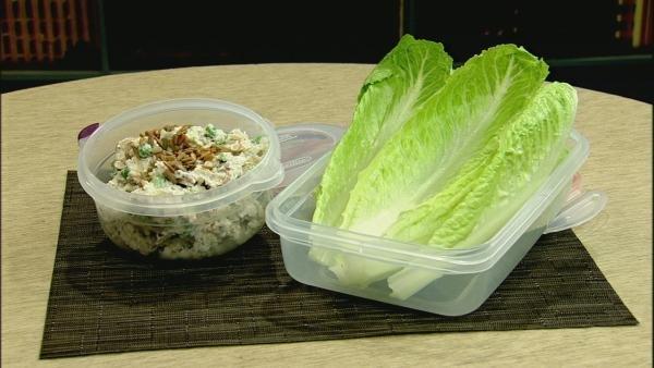 Brown Rice Lettuce Wraps
