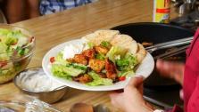 Herbed Greek Chicken Salad