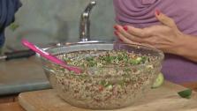 Autumn Quinoa Tabbouleh