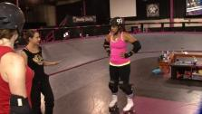 Ali Vincent Takes on Roller Derby