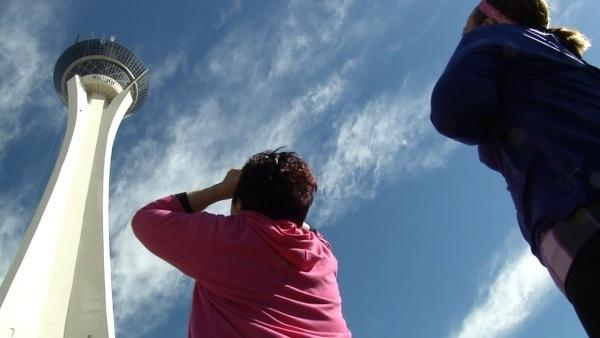 Ali and Bette-Sue Face the Stratosphere SkyJump
