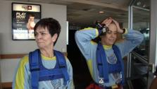 Ali and Bette-Sue Take a Live Big Leap from the 108th Floor