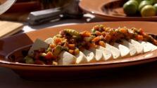 Fresh Cheese with Papaya-Chipotle Salsa