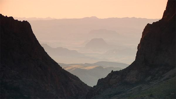 A Room with a View in the Chisos Mountains