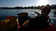Pack-Rafting the Bay