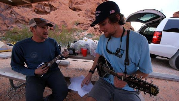 Motion Crew Sets Up Camp at Valley of Fire National Park
