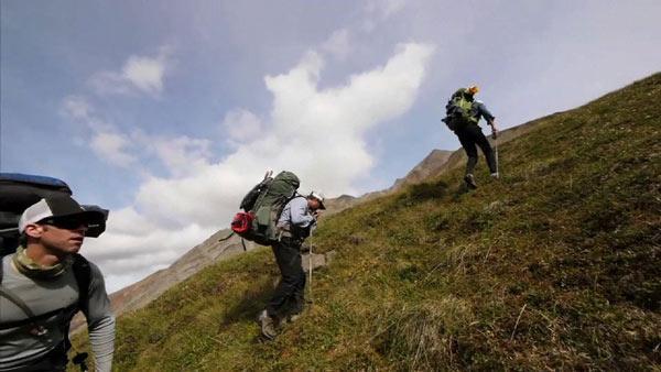 Climbing Calico Pass in Alaska's Denali Mountain Range