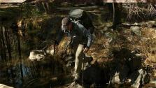 How to Use Trekking Poles to Cross a Stream or a Creek