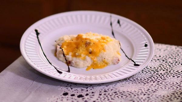 Loaded Mashed Potatoes with Horseradish