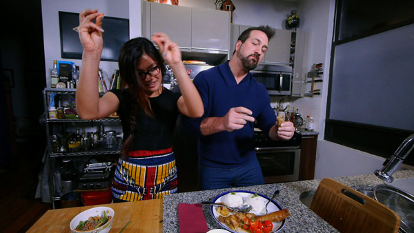 If the food is good, Joey is dancing! Yvonne...