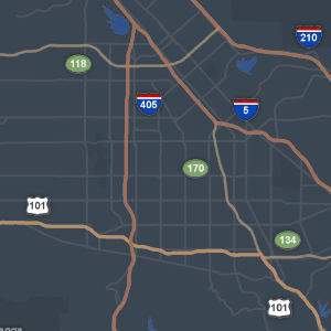 Sothern California Map La Habra Ca.Los Angeles And Southern California Traffic Abc7 Com