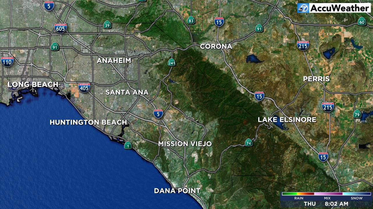 Mega Doppler Orange County Weather Radar Map | abc7.com
