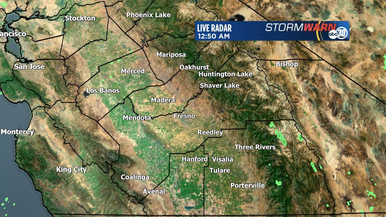 Fresno Live Weather Doppler Radar Map Abc30 Com