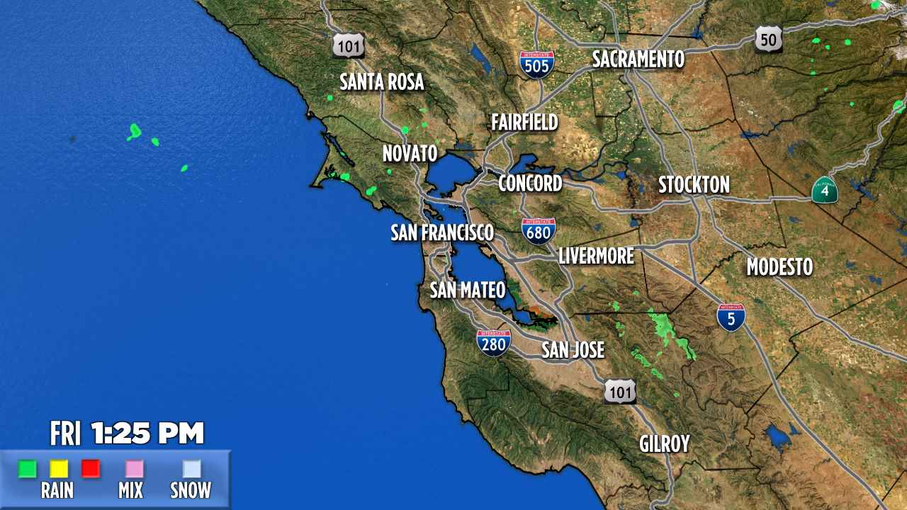 San Francisco Weather Radar Live Doppler 7 Abc7news Com