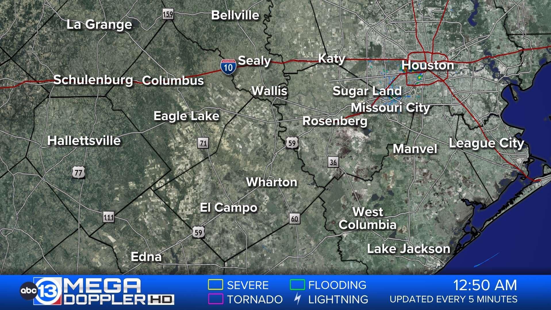 Map Of Kingwood Texas.Southeast Texas Weather Radar Mega Doppler Abc13 Com