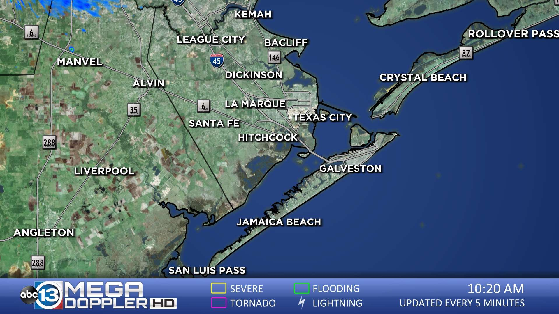 Galveston County Radar