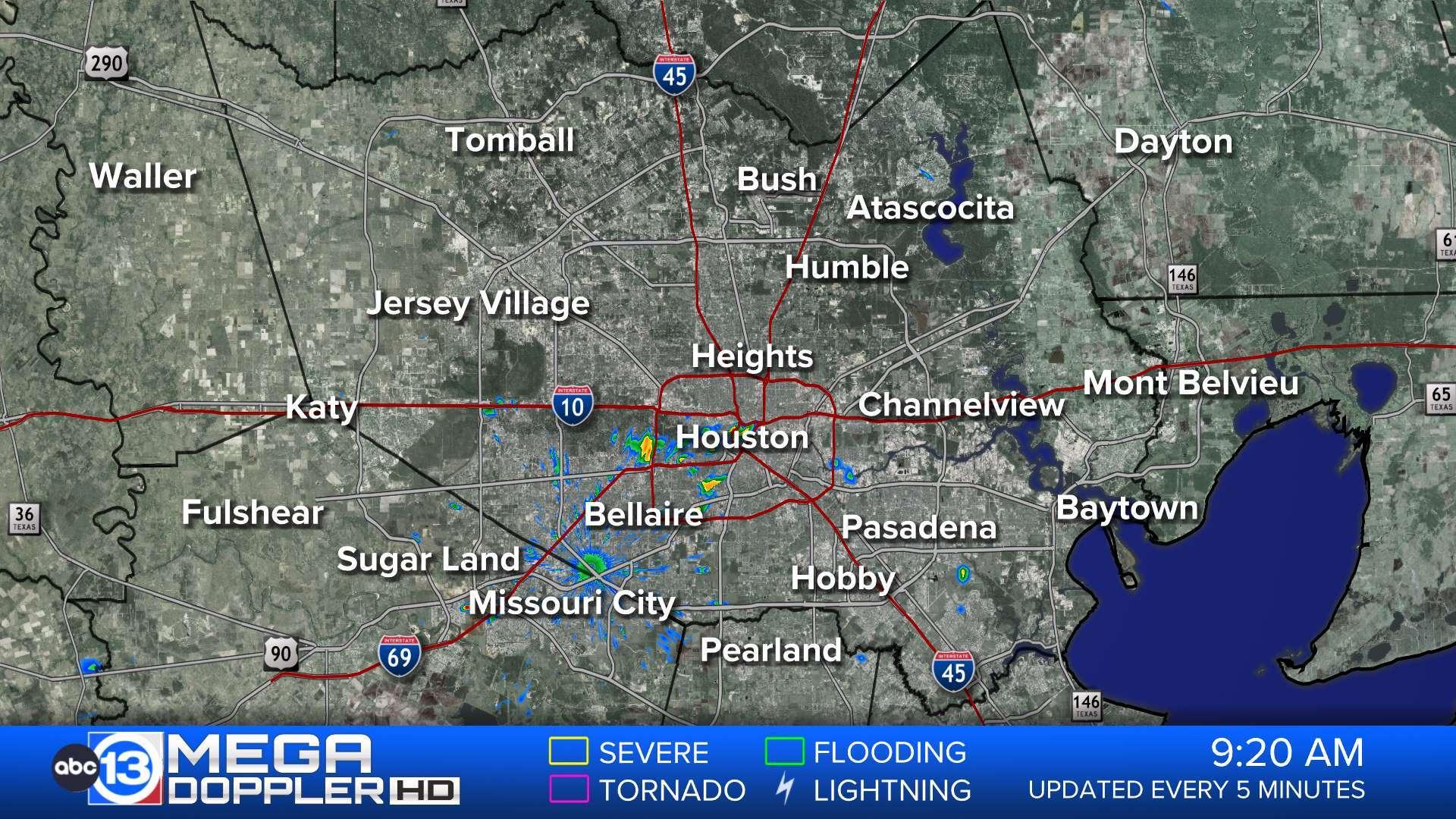 Radar Map Of Texas.Southeast Texas Radar Abc13 Com
