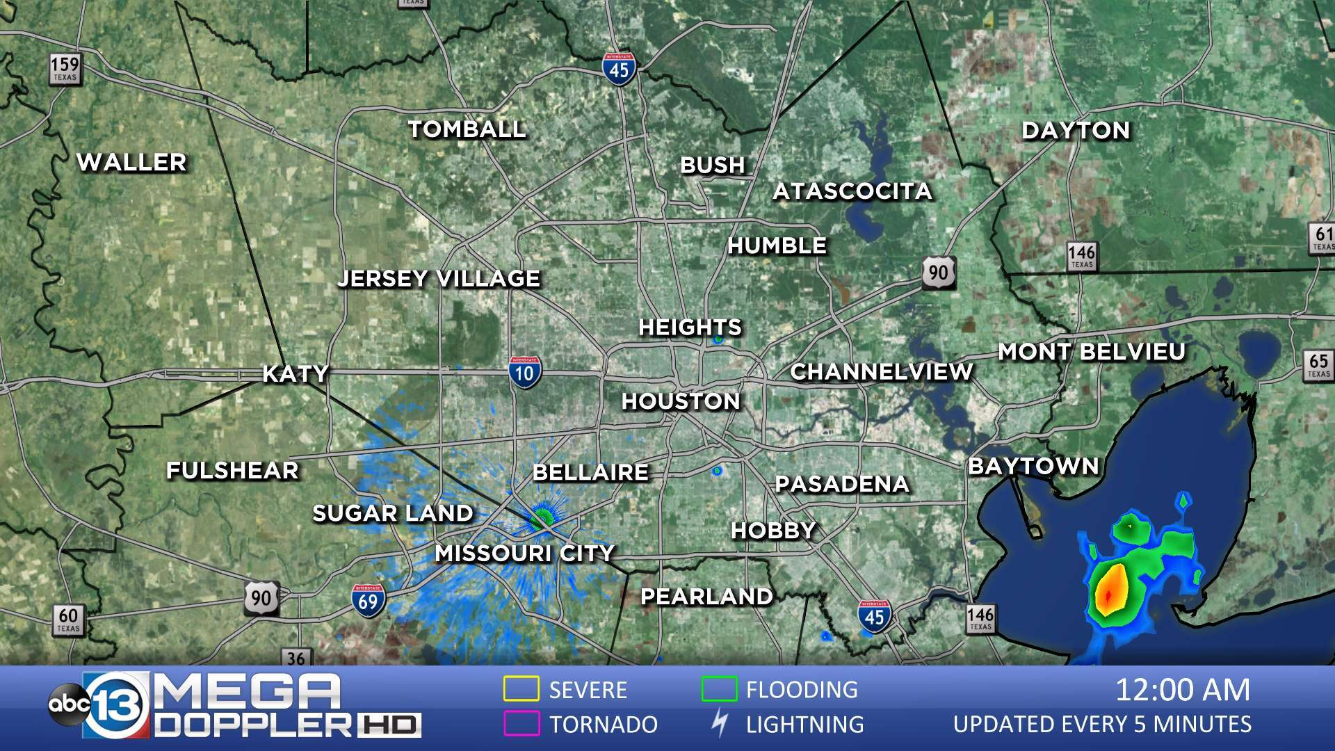 Map Of Texas Weather.Southeast Texas Radar Abc13 Com