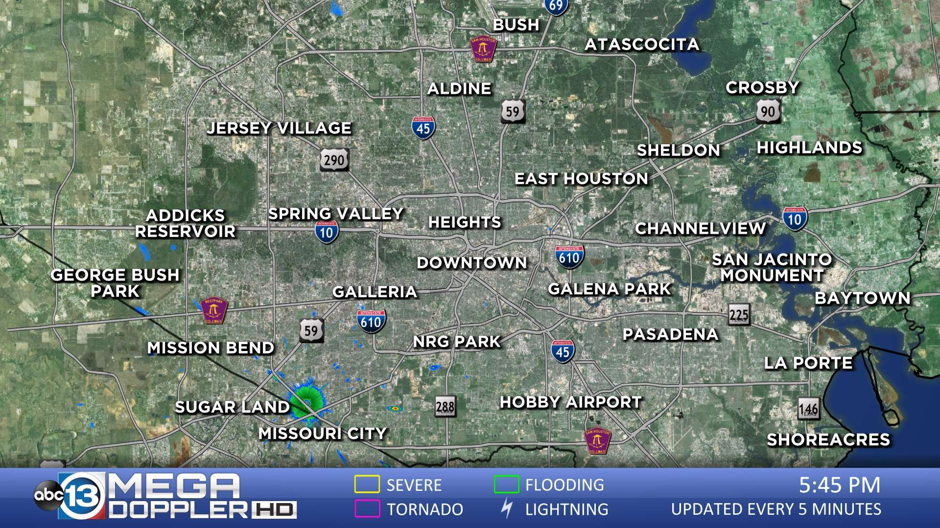 Khou Weather Map.Houston Weather Radar Map Mega Doppler Abc13 Com