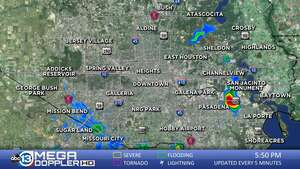 Map Of South East Texas.Southeast Texas Weather Radar Mega Doppler Abc13 Com