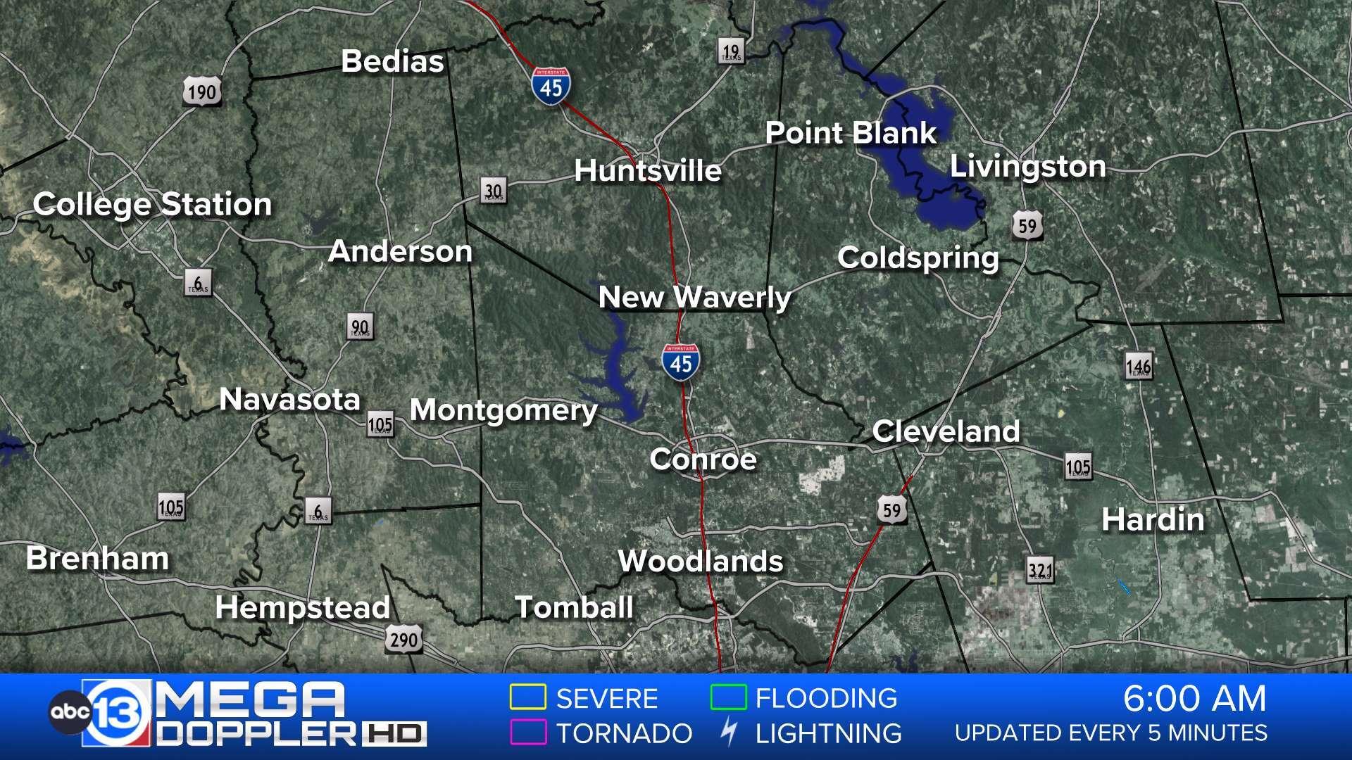 Houston Weather Radar Map Mega Doppler Abc13 Com